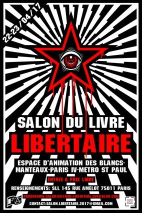 Salon du livre libertaire 2017 - Paris